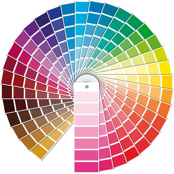 Welke kleur past bij u - Associatie van kleur e geen schilderij ...